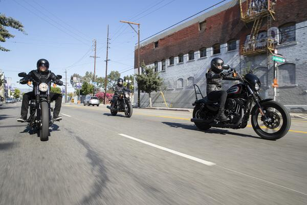 Sportster Riders on the Street
