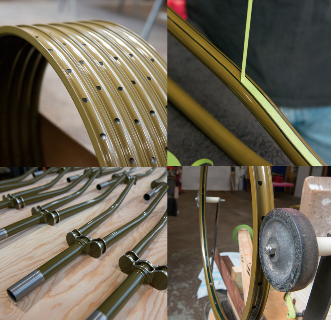 Constructing the Bicycle Wheels