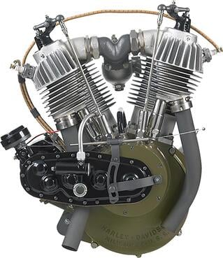 The History of H-D Engines