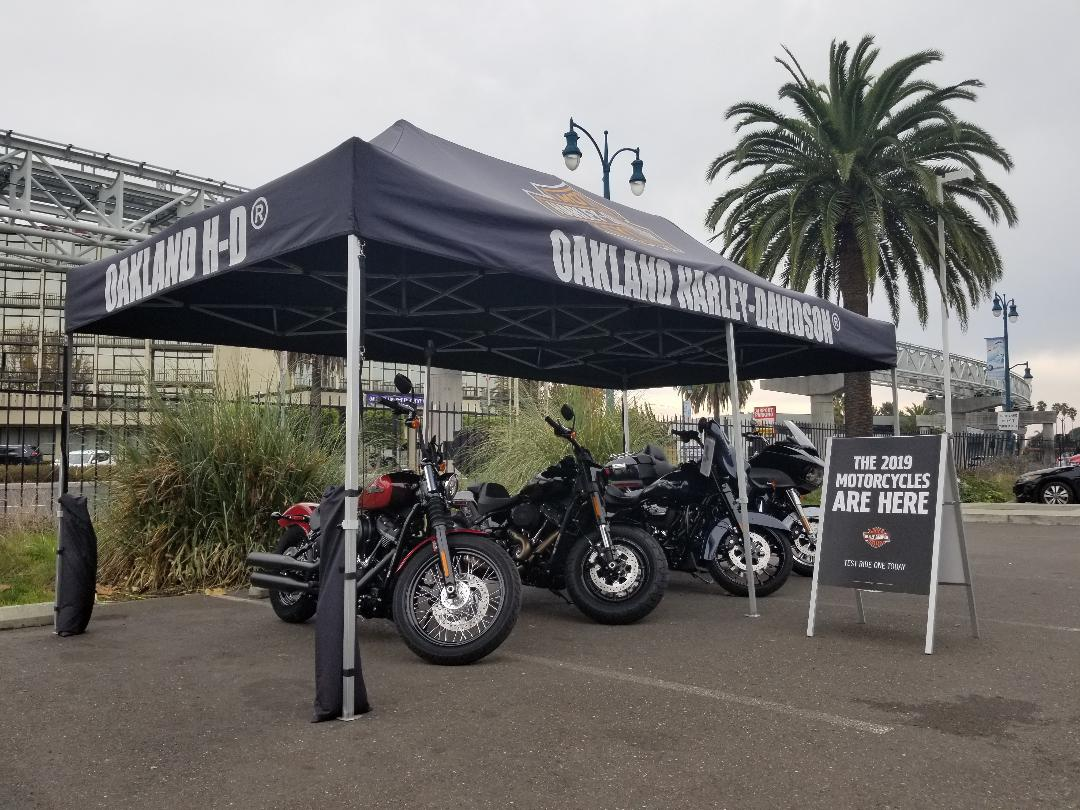 Test Ride Tent 2
